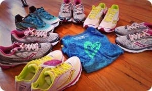 Saucony Shoes and Shirts