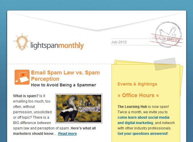 LightspanMonthly July Newsletter