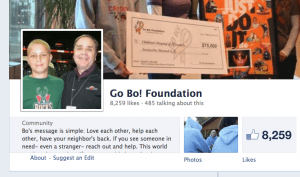 Go Bo Foundation Page