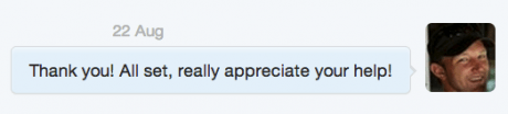 Thank You DM