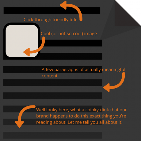 A typical sales-y blog format. Ew.