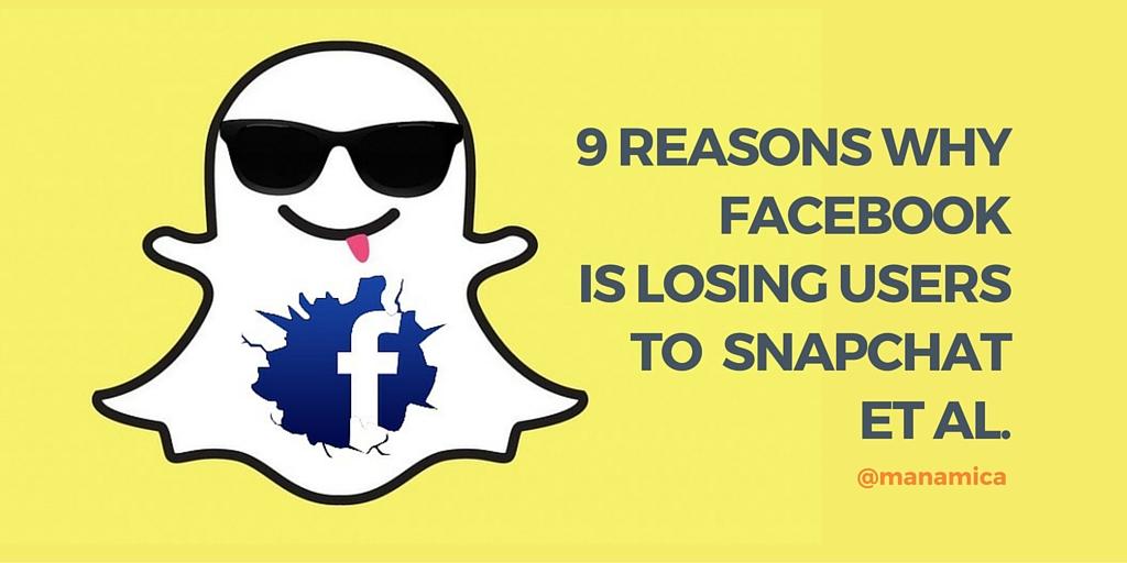 snapchat eats facebook
