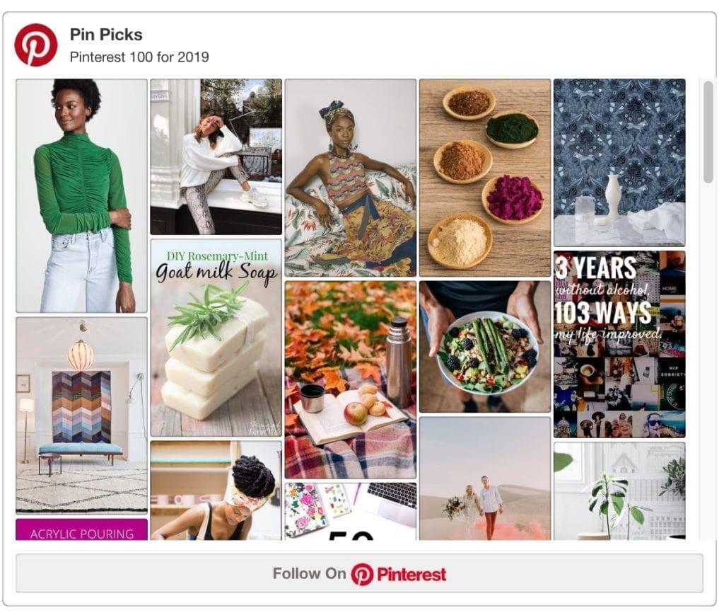 Pinterest 100: 2019 Trends