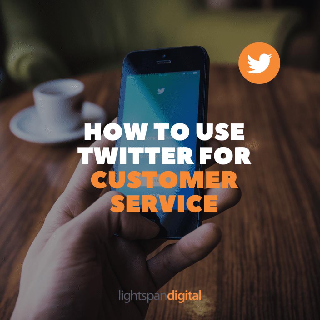 principles of customer service via twitter