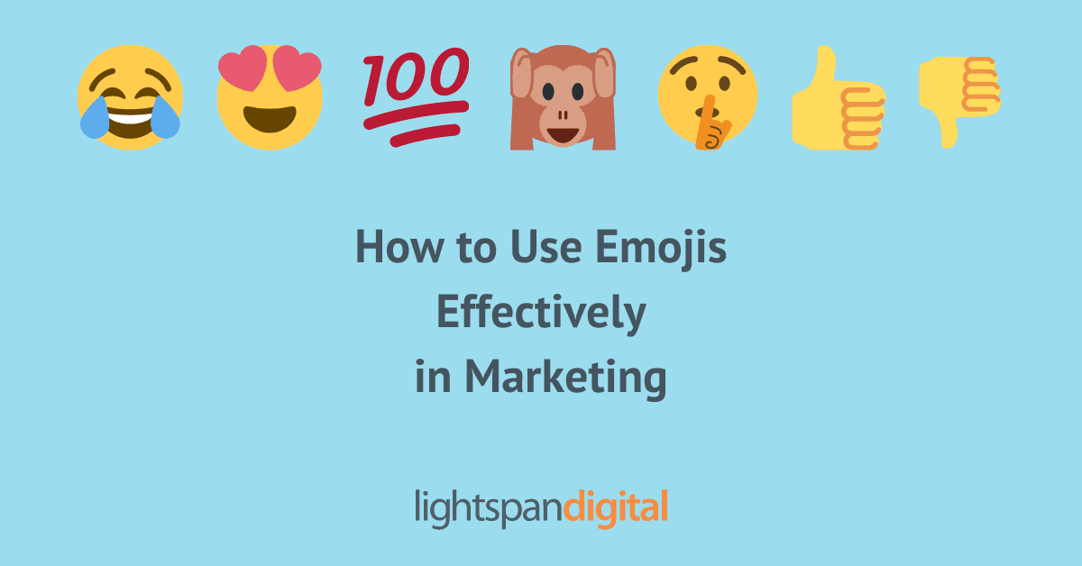 How to Use Emojis Effectively in Marketing