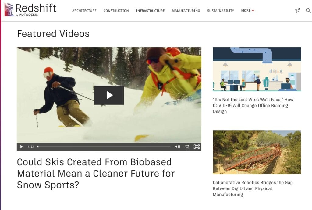 autodesk redshift thought leadership content strategy